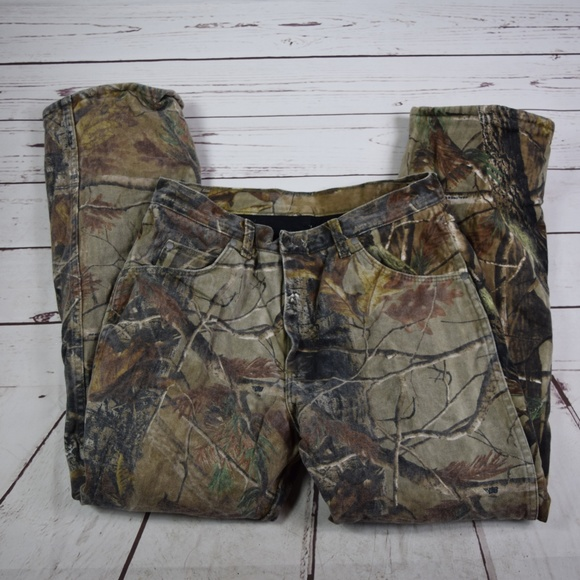 529da2a3 Wrangler Pants | Mens Progear Camouflage 32 X 30 | Poshmark